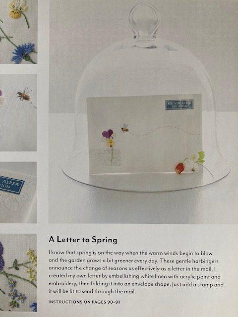 garden stitch life spring