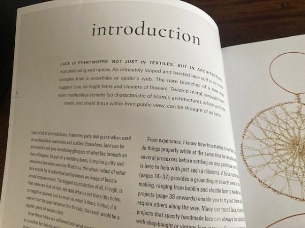 Lace Reimagined: 30 inspiring projects for making and using lace creatively intro