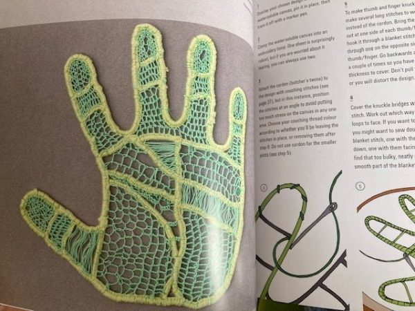 Lace Reimagined: 30 inspiring projects for making and using lace creatively fingers