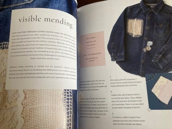 Lace Reimagined: 30 inspiring projects for making and using lace creatively mending