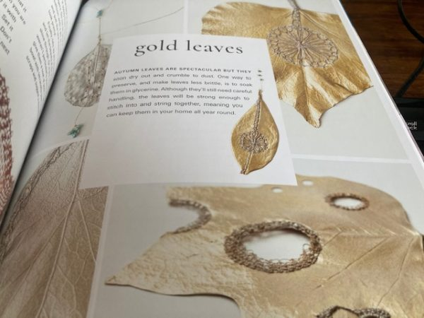 Lace Reimagined: 30 inspiring projects for making and using lace creatively leaf