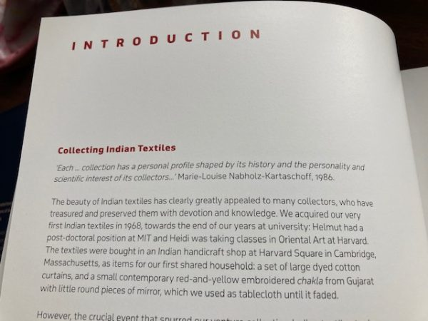Textiles of India introduction