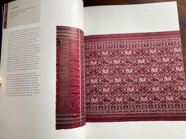 textiles of India pages