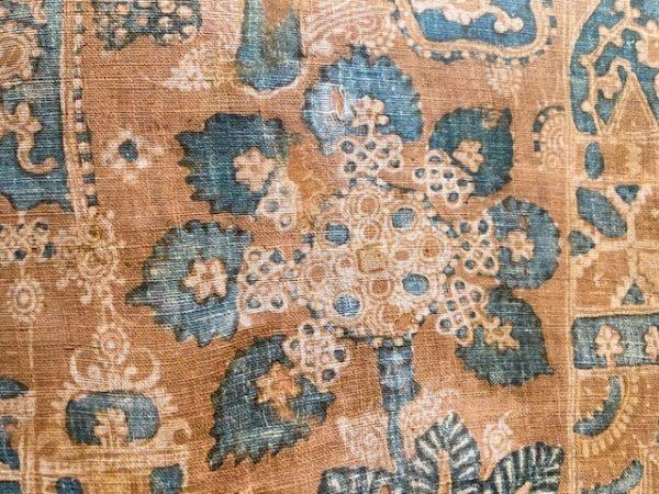 textiles of india close up