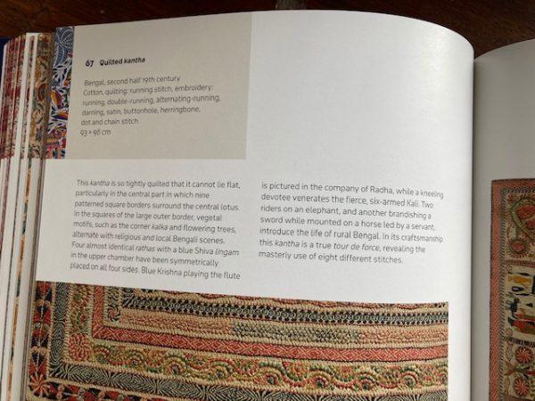 Textiles of India label