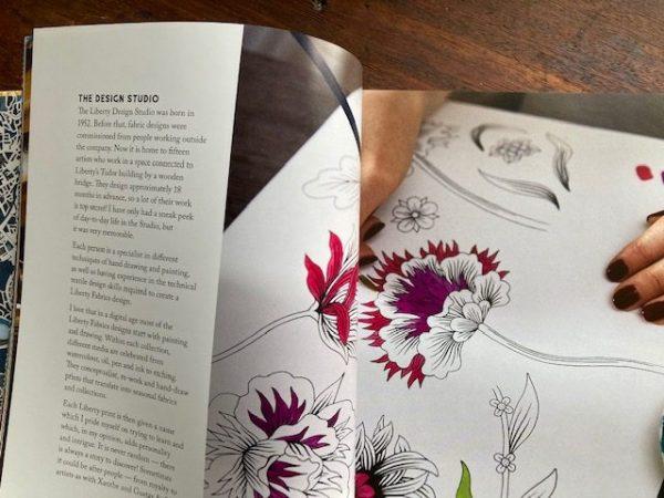 Jenni Smith Liberty print design studio