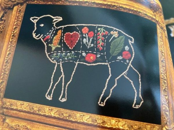 Stitchcraft: An Embroidery Book of Simple Stitches and Peculiar Patterns - sheep