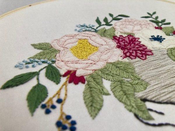 Thread Folk Libby Moore floral