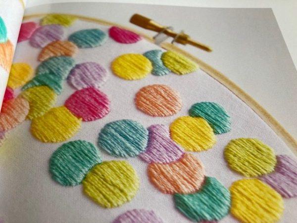 Thread Folk Libby Moore confetti close up