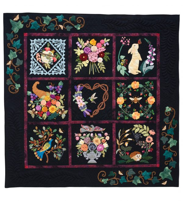 Book Review - Seasons of Life Quilt by Sandra Mollon