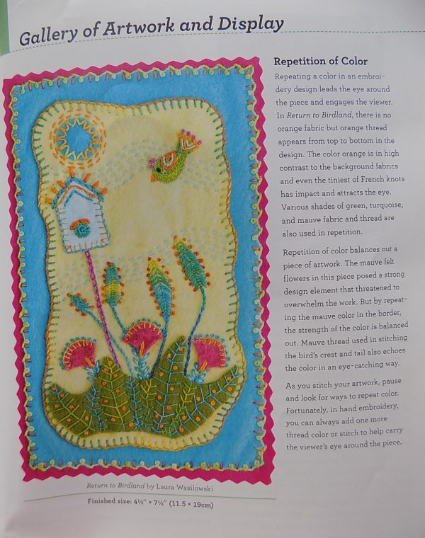 Playful Free-Form Embroidery