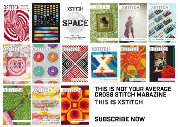 XStitch Magazine 15 Cover Subscribe