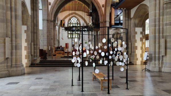 Stitch Your Story Installation at Blackburn Cathedral